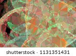 low poly mosaic background.... | Shutterstock .eps vector #1131351431