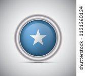 somalia flag button style.... | Shutterstock .eps vector #1131360134