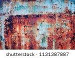 old rusty backgound | Shutterstock . vector #1131387887