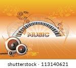 music background | Shutterstock .eps vector #113140621