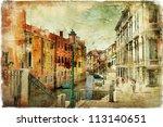 Romantic Venice   Artwork In...