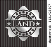 land silver emblem or badge | Shutterstock .eps vector #1131425507