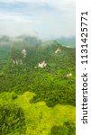 landscape of mountain in krabi... | Shutterstock . vector #1131425771