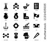 set of 16 icons such as...   Shutterstock .eps vector #1131435035
