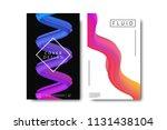 vector set of realistic... | Shutterstock .eps vector #1131438104