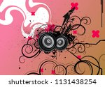 modern music background vector... | Shutterstock .eps vector #1131438254