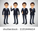 elegant people business people   Shutterstock .eps vector #1131444614