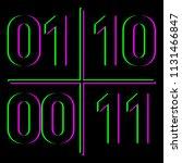 quantum computing concept | Shutterstock .eps vector #1131466847