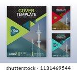 modern business annual report... | Shutterstock .eps vector #1131469544