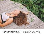 portrait of beautiful young... | Shutterstock . vector #1131470741