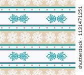 seamless vector decorative... | Shutterstock .eps vector #1131471251