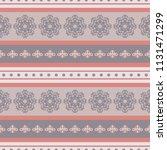 seamless vector decorative... | Shutterstock .eps vector #1131471299
