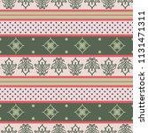 seamless vector decorative... | Shutterstock .eps vector #1131471311