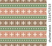 seamless vector decorative... | Shutterstock .eps vector #1131471515