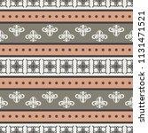 seamless vector decorative... | Shutterstock .eps vector #1131471521