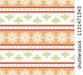 seamless vector decorative... | Shutterstock .eps vector #1131471545