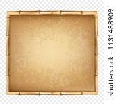 vector illustration of brown... | Shutterstock .eps vector #1131488909