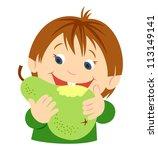 fruit | Shutterstock .eps vector #113149141