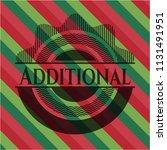 additional christmas emblem... | Shutterstock .eps vector #1131491951