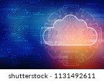 2d rendering cloud computing ... | Shutterstock . vector #1131492611