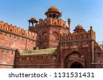the red fort   lal qila   was...   Shutterstock . vector #1131531431