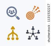 focussed efforts   pastel... | Shutterstock .eps vector #1131532217