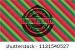 genuine quality christmas... | Shutterstock .eps vector #1131540527