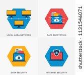 local area network  internet... | Shutterstock .eps vector #1131546071