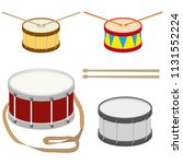Drum  A Set Of Realistic Drums...