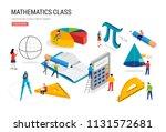 math lab and school class....   Shutterstock .eps vector #1131572681