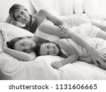 black and white view of...   Shutterstock . vector #1131606665