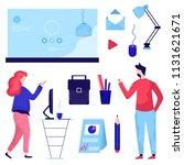 vector illustration of business ...   Shutterstock .eps vector #1131621671