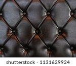 elegant luxury dark brown... | Shutterstock . vector #1131629924