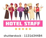 hotel background composition... | Shutterstock .eps vector #1131634484