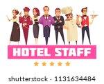 hotel background composition...   Shutterstock .eps vector #1131634484