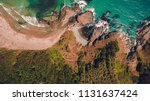aerial top view of a scenic... | Shutterstock . vector #1131637424