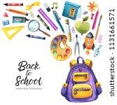 Watercolor School And Educatio...