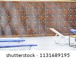 numbered boxes for things on... | Shutterstock . vector #1131689195
