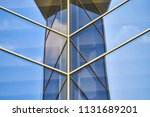 glass wall in the office... | Shutterstock . vector #1131689201