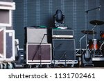 boxes for carrying musical... | Shutterstock . vector #1131702461
