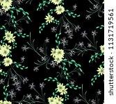small flowers. seamless pattern ...   Shutterstock .eps vector #1131719561