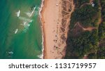 aerial top view of a nice wild... | Shutterstock . vector #1131719957