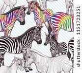 seamless pattern  background ... | Shutterstock .eps vector #1131723251
