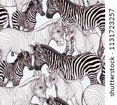 seamless pattern  background ... | Shutterstock .eps vector #1131723257