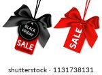 black friday sale tag with... | Shutterstock .eps vector #1131738131