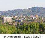 cityscape panorama of european... | Shutterstock . vector #1131741524