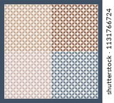 ethnic scarf pattern design | Shutterstock .eps vector #1131766724