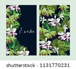 floral greeting invitation card ... | Shutterstock .eps vector #1131770231