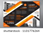 business brochure. flyer design.... | Shutterstock .eps vector #1131776264