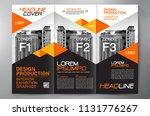 business brochure. flyer design.... | Shutterstock .eps vector #1131776267